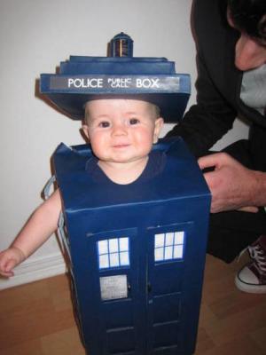 The cutest TARDIS ever.