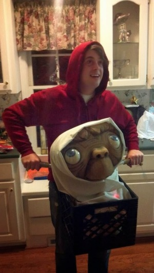 The buddy of E.T.: the Extra-Terrestrial.