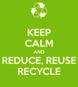Keep Calm and Reduce, Reuse, Recycle image
