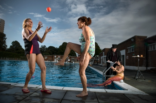 Brockwell Lido Fun Palace, Image by Tom Parker