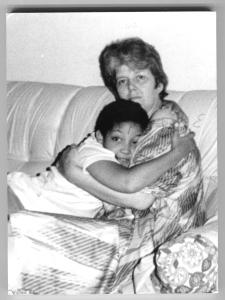 Lizzie & her mum